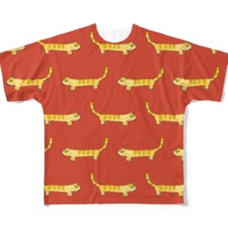 きいろネコ Full Graphic T-Shirt