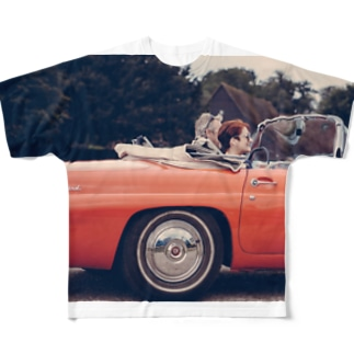 Open Car Full graphic T-shirts