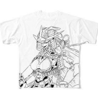 和ロボ武士 Full graphic T-shirts