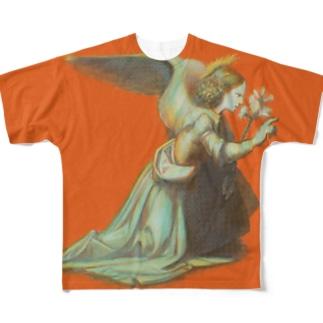 受胎告知? Full graphic T-shirts