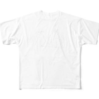 ムギソイTシャツ Full graphic T-shirts
