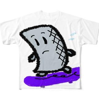 焦るコン太氏 Full graphic T-shirts