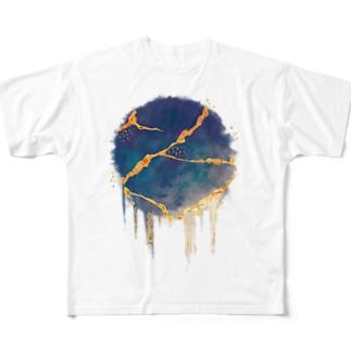 金継ぎ Full Graphic T-Shirt
