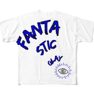 FANTA STIC GLAY Tシャツ Full graphic T-shirts