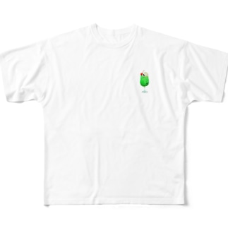 クリームシャチソーダ All-Over Print T-Shirt