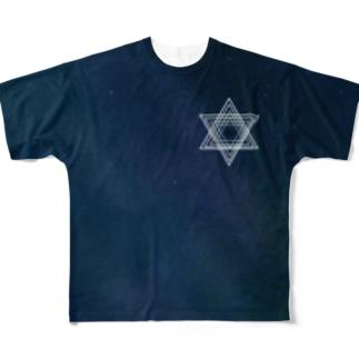 宇宙 Full graphic T-shirts