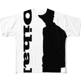 oihal シルエットシャツ Full graphic T-shirts