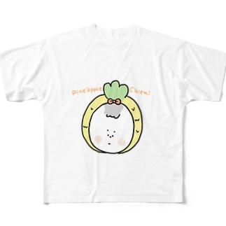 パイナップル☆ちえみ Full graphic T-shirts