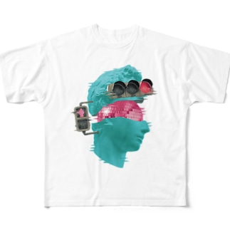 K collage01 Full graphic T-shirts
