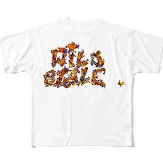 ワイルドスタイル Full graphic T-shirts