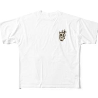 モモ太 Full graphic T-shirts