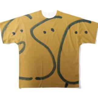 Escくん Full graphic T-shirts