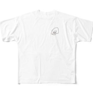まめのまめ Full graphic T-shirts