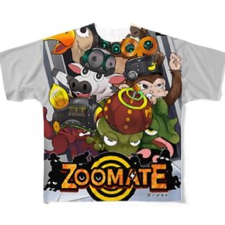 ズーメイト(タイプB) Full graphic T-shirts