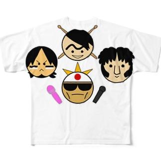 いけ楽のヤーツ Full graphic T-shirts