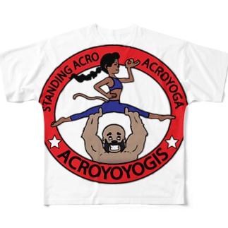 Acroyoyogis Logo Full graphic T-shirts