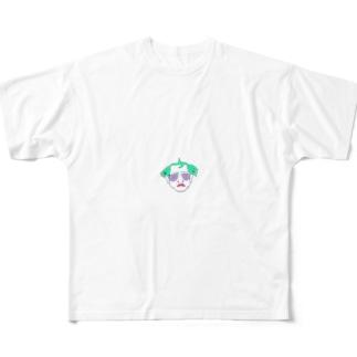 畑山 ススム Full graphic T-shirts