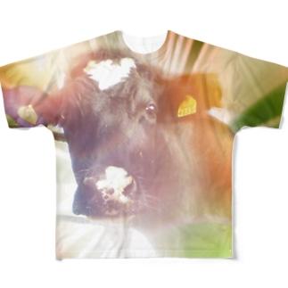 謎の牛2 Full graphic T-shirts