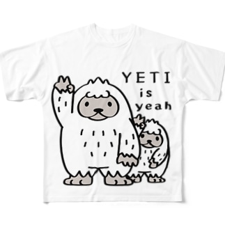 CT94 YETI is yeah*A4000 Full graphic T-shirts