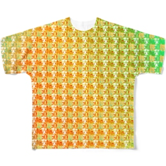 六道輪廻h.t.(full) Full graphic T-shirts