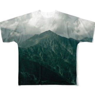moutain Full graphic T-shirts