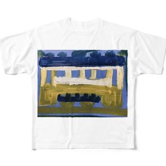 db_jr2021のDBくん Full graphic T-shirts