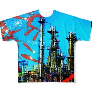プラント Full graphic T-shirts