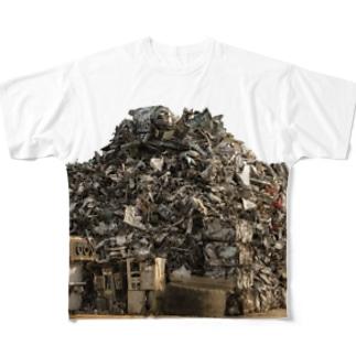 junkyard 山 Full graphic T-shirts