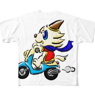 GO!GO!GO! Full graphic T-shirts