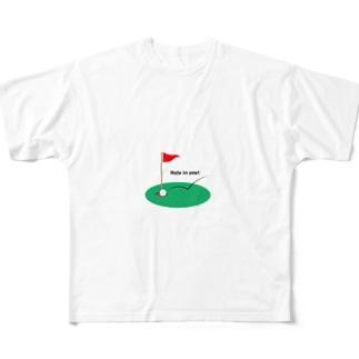 ゴルフ Full graphic T-shirts