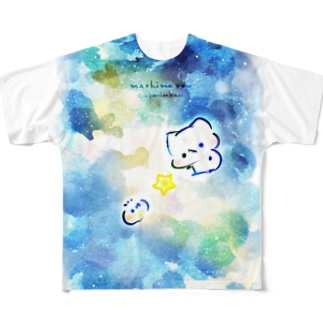 starlightましまろう Full graphic T-shirts