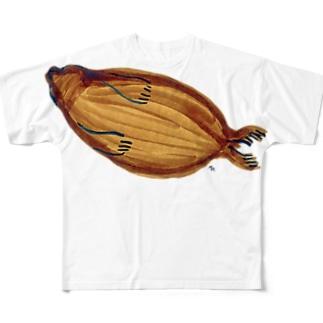 バイカルアザラシ Full graphic T-shirts