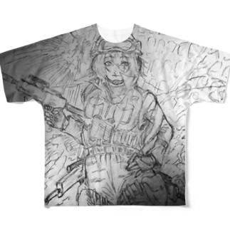 傭兵さん、A Full graphic T-shirts