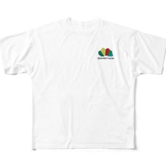 ダニエルルーカスロゴ Full graphic T-shirts