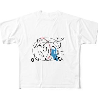 言行相反 Full Graphic T-Shirt