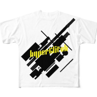 hyperGlitch Tシャツ Full graphic T-shirts