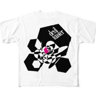 deviltoaster Tシャツ Full graphic T-shirts