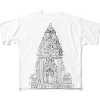 ミーソン遺跡A1 Full graphic T-shirts