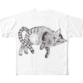 ぺこ太郎 Full graphic T-shirts