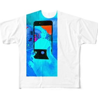 hikohik0 Full graphic T-shirts
