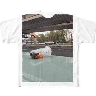タピ寝 Full graphic T-shirts