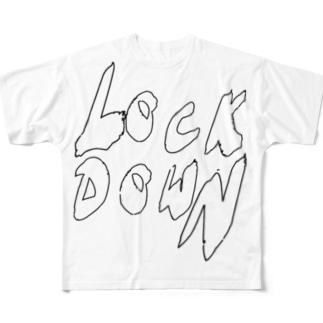 都市封鎖 Full graphic T-shirts