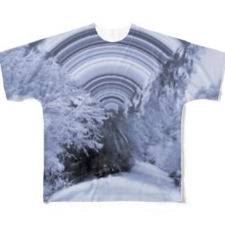 Yukiga Futte Tsmoru Full graphic T-shirts