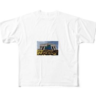 神様 Full graphic T-shirts