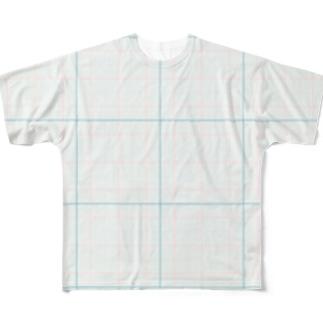 グラフペーパー Full graphic T-shirts