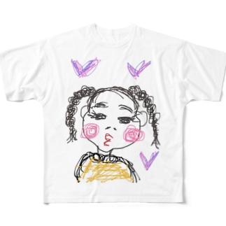 エミたん Full graphic T-shirts