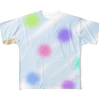 ふんわりオーナメント Full graphic T-shirts