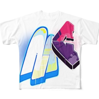 king.chag Special #1 Full graphic T-shirts