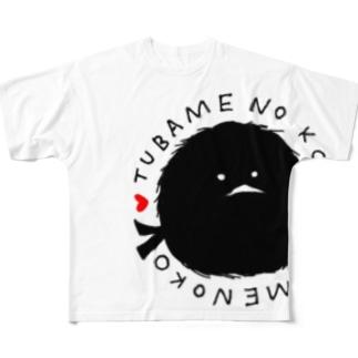 燕の子 Full graphic T-shirts