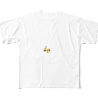 メニエール君 Full graphic T-shirts